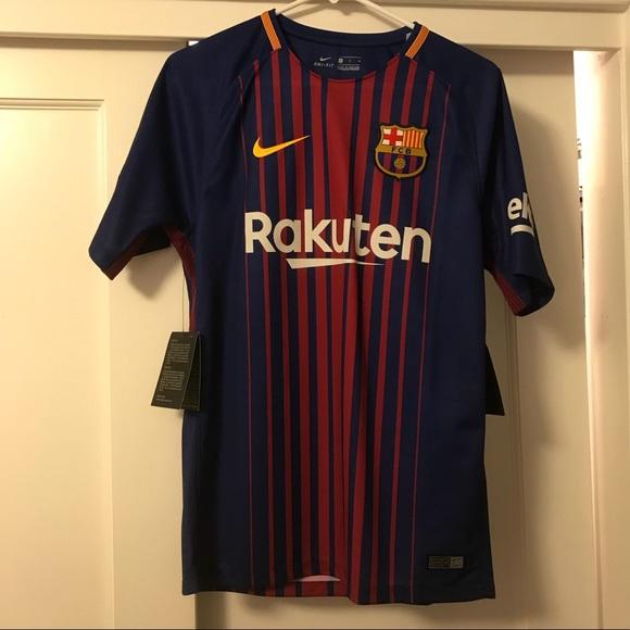 pretty nice e6aa1 d6524 Men's FC Barcelona Home Jersey NWT
